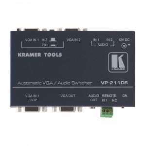 Automatik VGA & Audio Selector, 2 zu 1 2 Eingänge