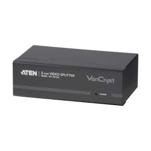 Monitorsplitter, bis 400 MHz, 1 Eingang / 2 Ausgänge