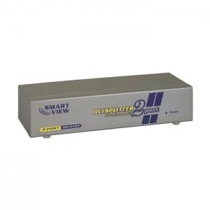 DVI Monitorsplitter, 1 Eingang / 2 Ausgänge