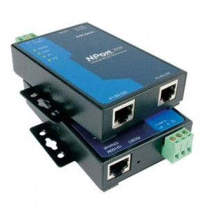 2 Port Serial Device Server, 2x RS-232, Anschluß 2x RJ-45 Buchse, inkl. Netzteil