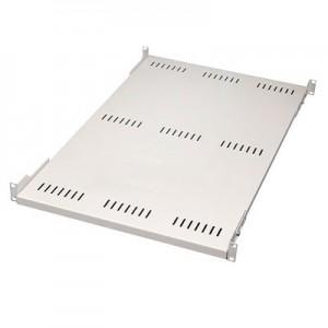 """19"""" Schwerlast Fachboden, bis 80 kg, verstellbar 480- 585 mm"""