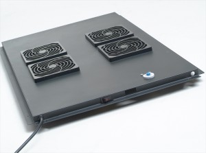 Ventilationskomplettsatz für Netzwerk- und Serverschrank,