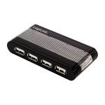 USB 2.0 Hub, 7 Port, 7 x A Buchse, 1 x B Buchse externes Netzteil, inkl. Anschlusskabel
