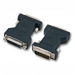 DVI-D Gender Changer, 24+1 Stecker an 24+1 Buchse