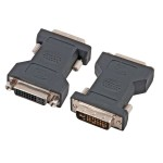 DVI-D Adapter, digital, 24+5 Buchse an 24+1 Stecker