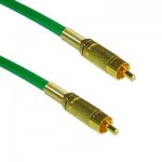 High Quality Videokabel, beidseitig Cinch Stecker