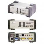 USB + Audio CPU Umschalter, 2-fach, automatisch