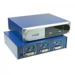 CPU Umschalter, DVI + PS2, automatisch für 2 PC's